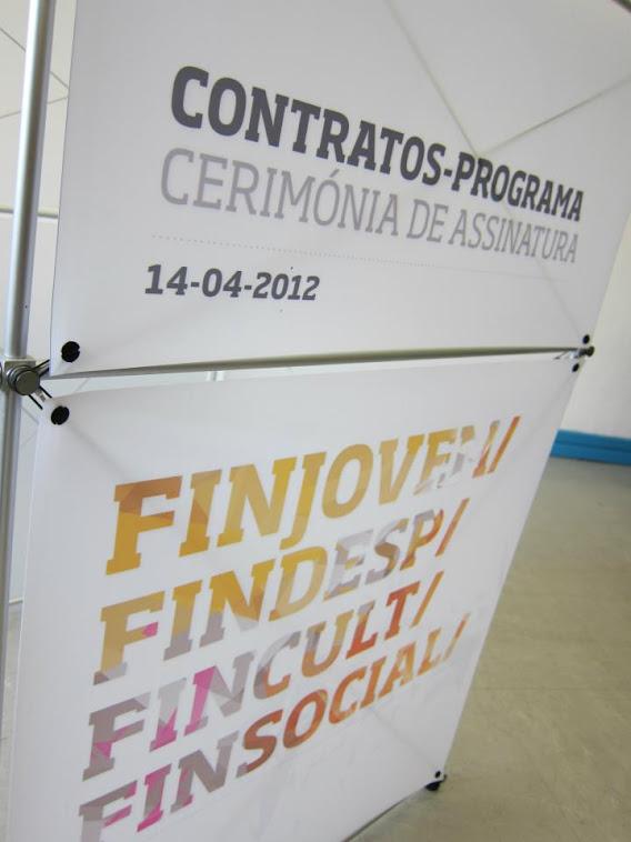 Assinatura Contratos Programa Fincult, Findesp, finsocial e finjovem 2012