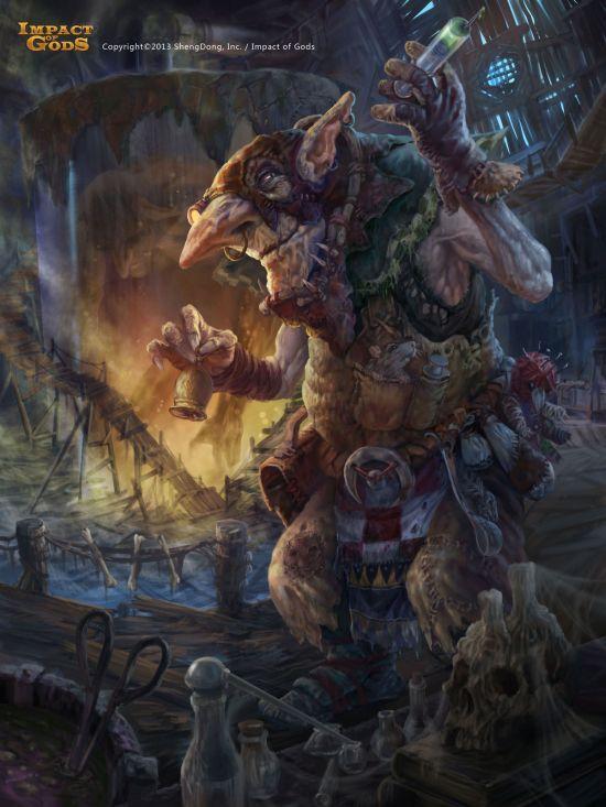 Jay Li twoface fantasy science fiction illustrations conceptual arts