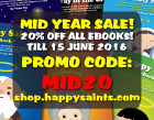Mid Year Sale!