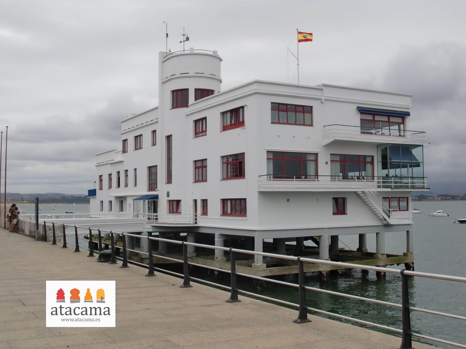 Atacama servicios culturales arquitectura racionalista en - Club nautico santander ...