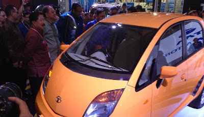 Tata Nano menjeng di IIMS 2012