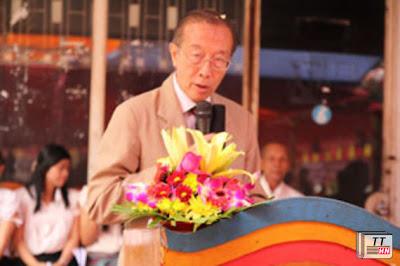 Cố vấn Quốc vương Norodom Sihamoni, ông Son Soubert.  RFA PHOTO/Quốc Việt
