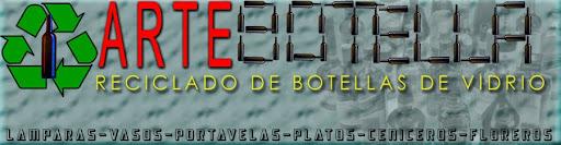 ARTE CON BOTELLAS DE VIDRIO
