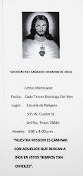 Sociedad Del Sagrado Corazon De Jesus De La Iglesia de Nuestra Senora De Guadalupe