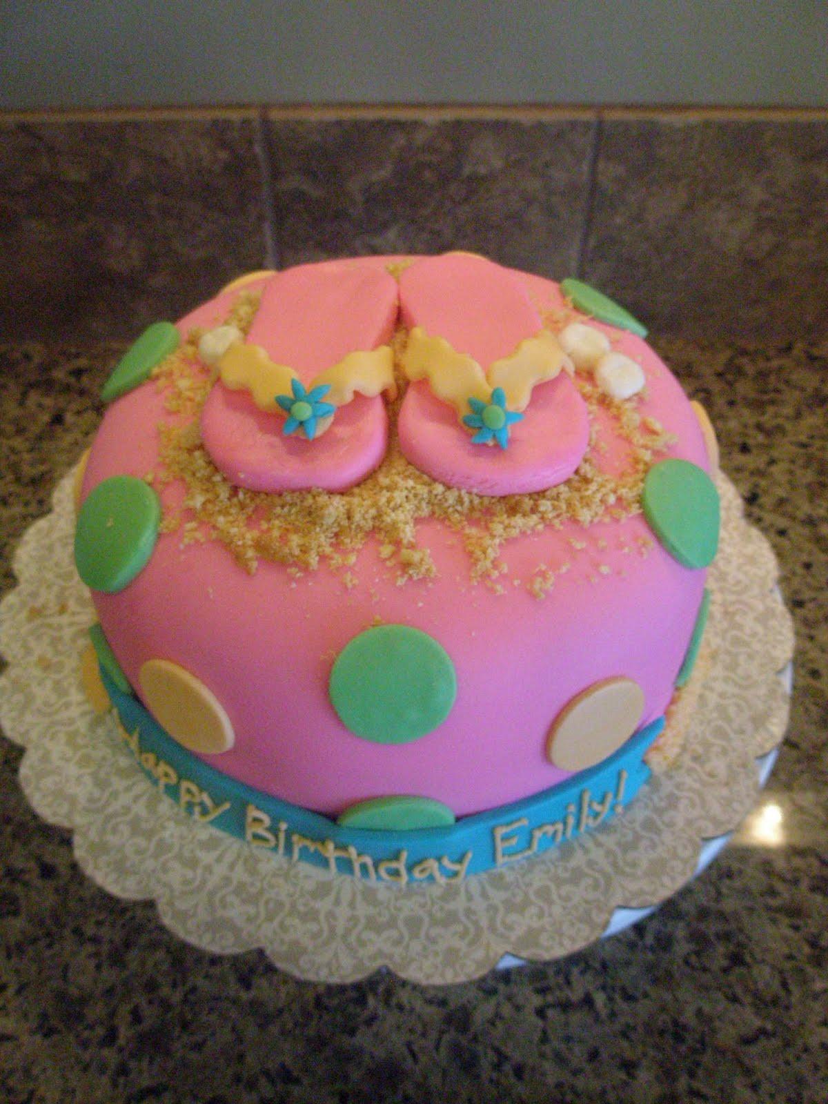Angies Cakes Happy Birthday Emily