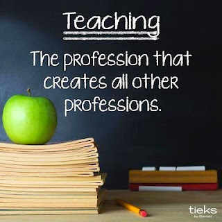 Teaching is the profession that creates all other professions