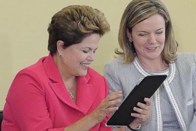 Segundo a Dilma, Banda larga Brasileira é lenta