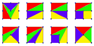Dividir un cuadrado