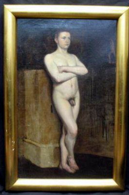 19th century nude men