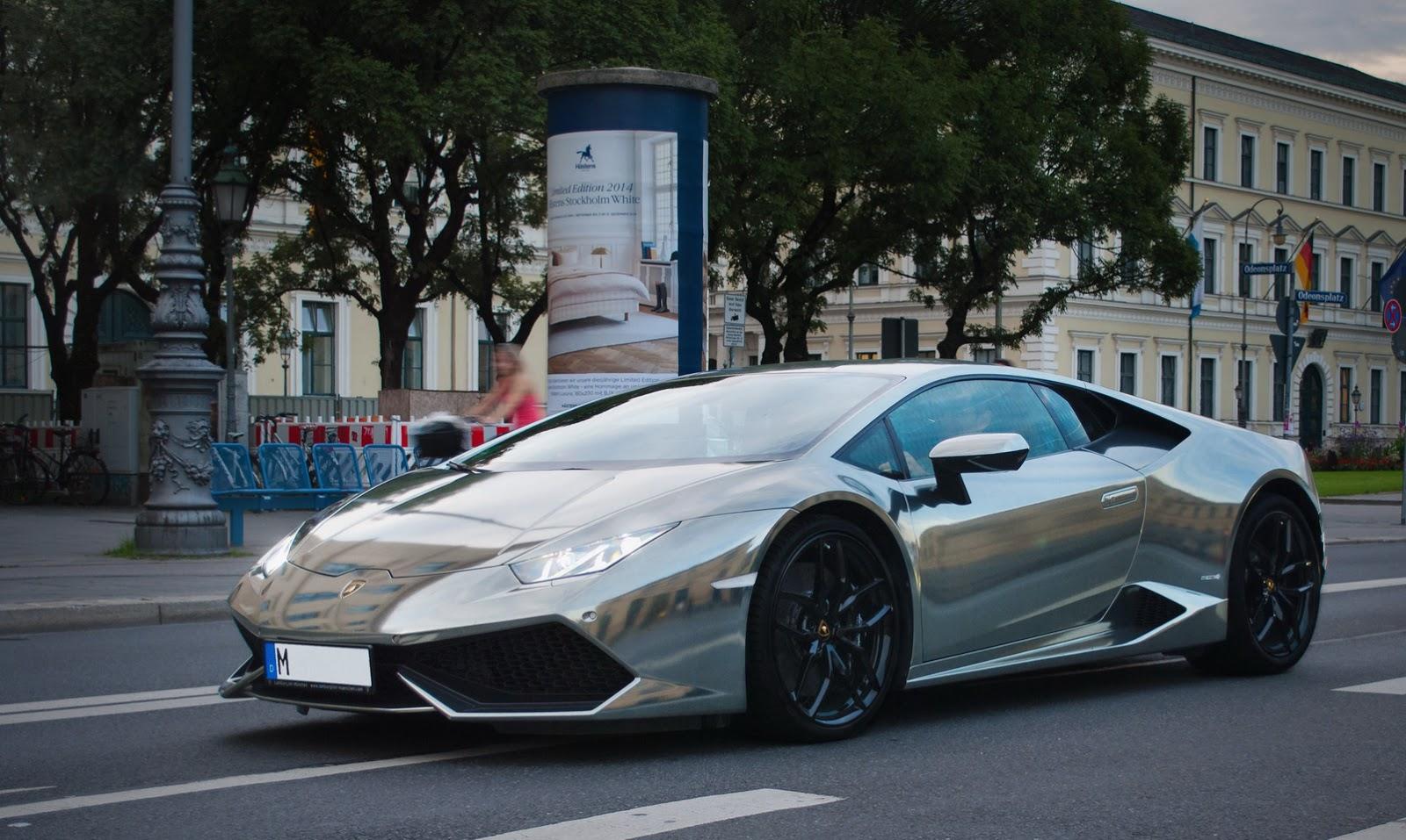 Lamborghini Huracan Earns Its Chrome Wrap Carscoops Com
