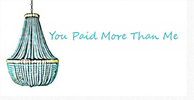 You paid more than me