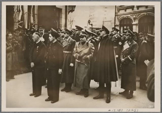 Inmormantarea lui Corneliu Zelea Codreanu