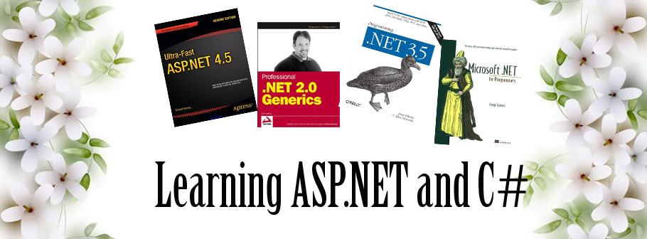 ASP.NET and C Sharp Learning Ebooks