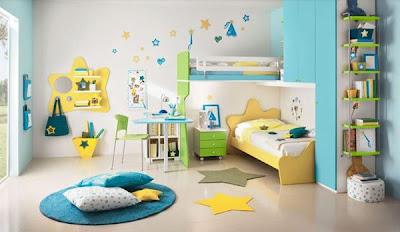 Kamar Tidur Cantik dan Mempesona Untuk Anak Perempuan