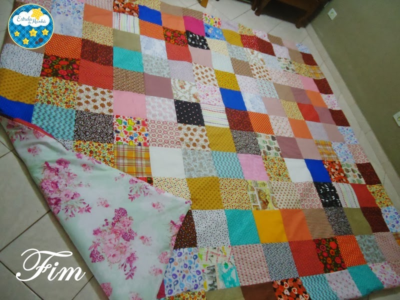 Colcha de patchwork - Portal de Artesanato - O