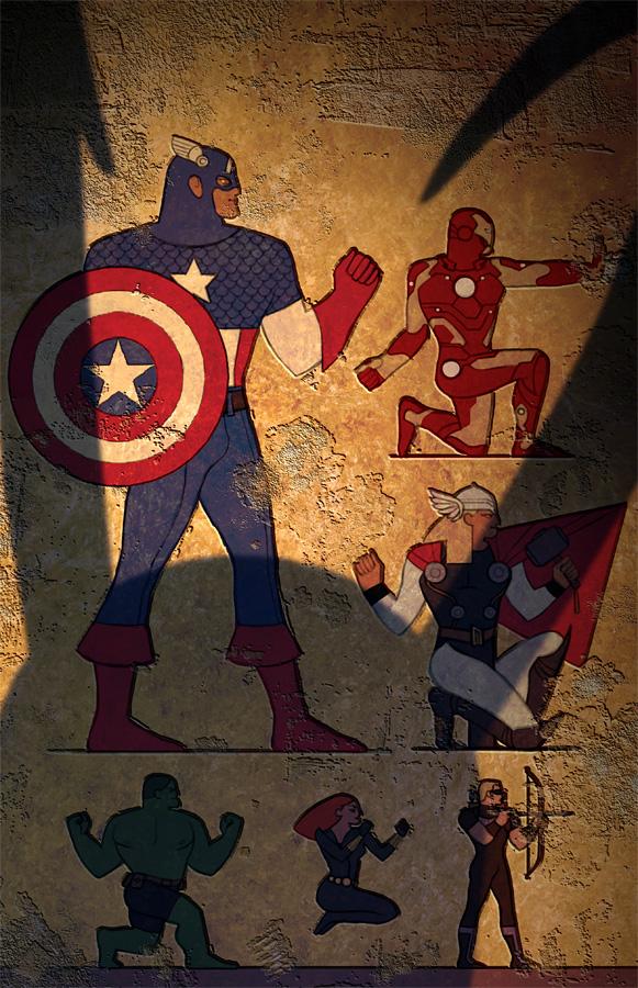 Egypt Avengers por Manarama
