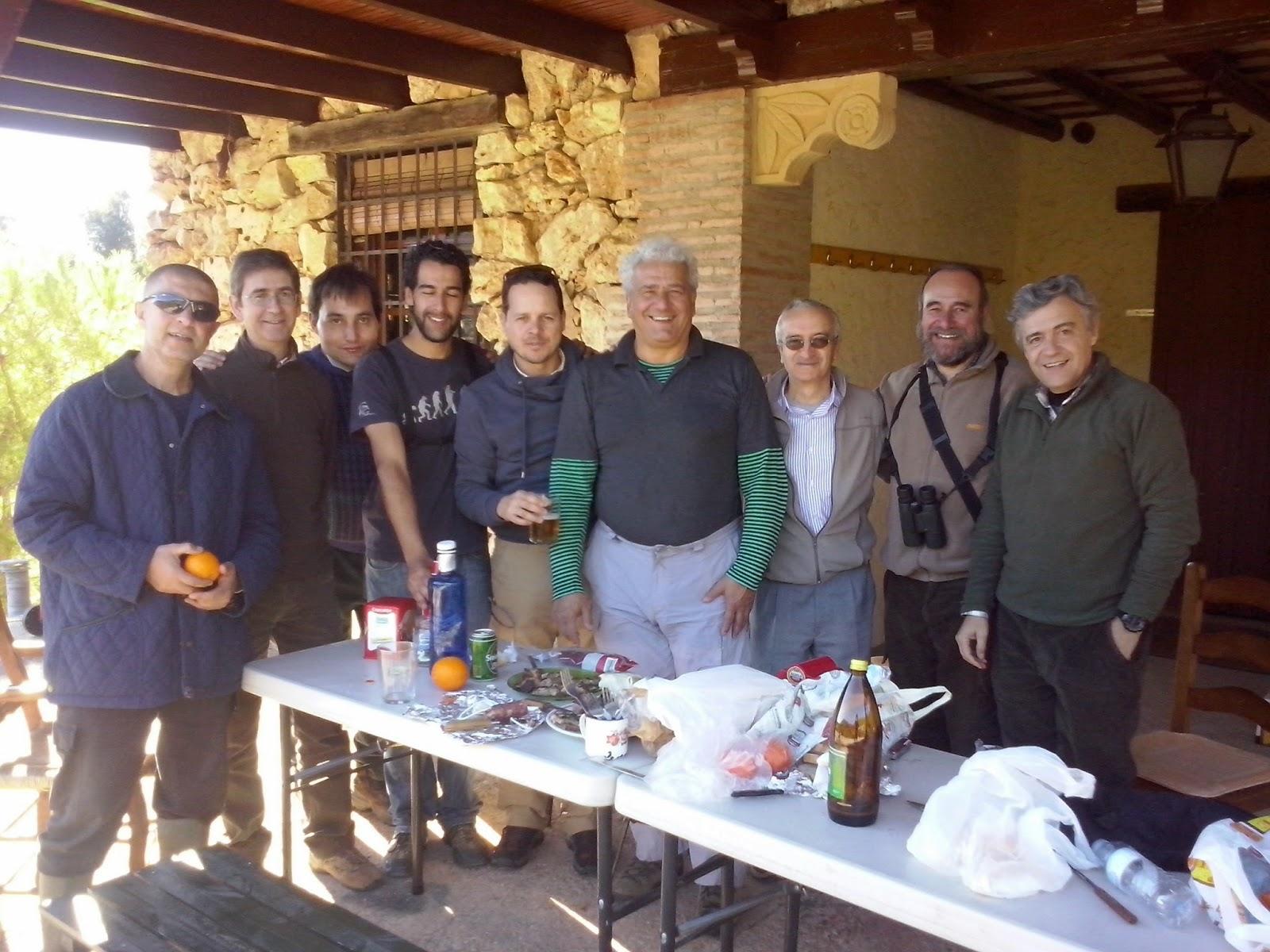 Excursión a Estepa 10/01/2015 del Grupo Local SEO-Sevilla.