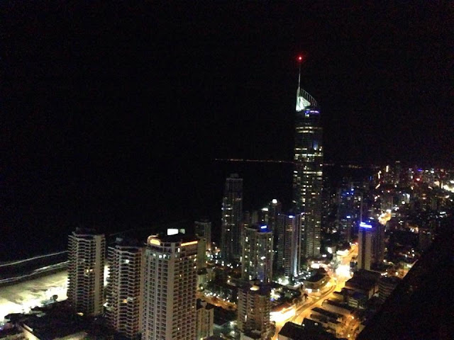 Amazing ocean views from level 54  Circle on Cavill Holiday Holiday self contained apartments Surfers Paradise, Gold Coast. Photo: Gold Coast Mum.com