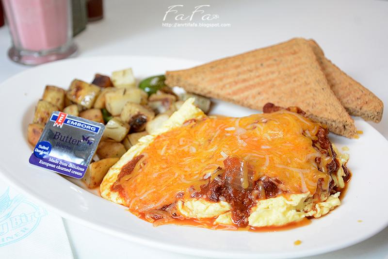 The Early Bird Diner 晨之鳥美式早午餐。 - 發發零 - Blogger