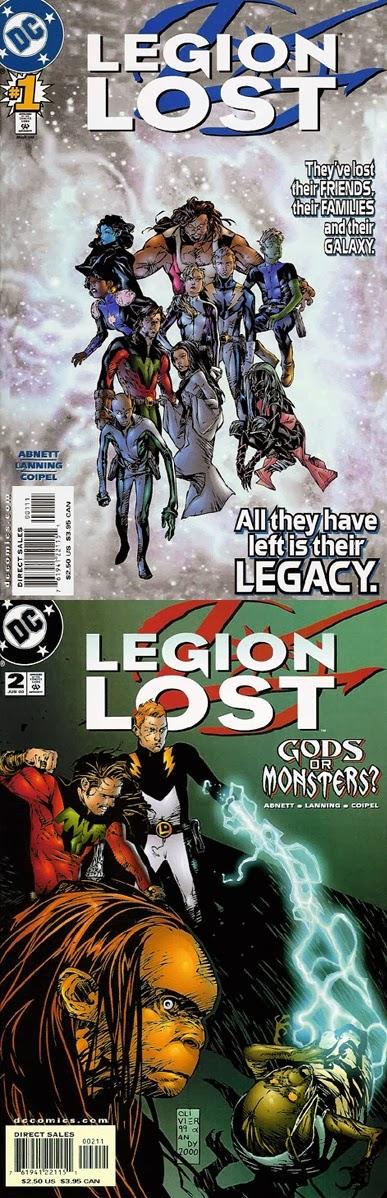 Legion Lost # 1, 2, 3 4 - Abnett, Lanning Coipel