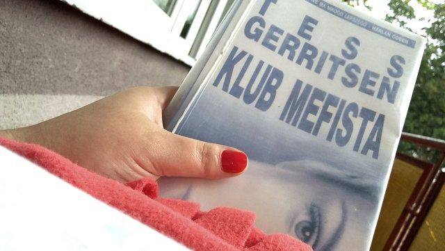 książki, czytam, tess gerritsen, klub mefista