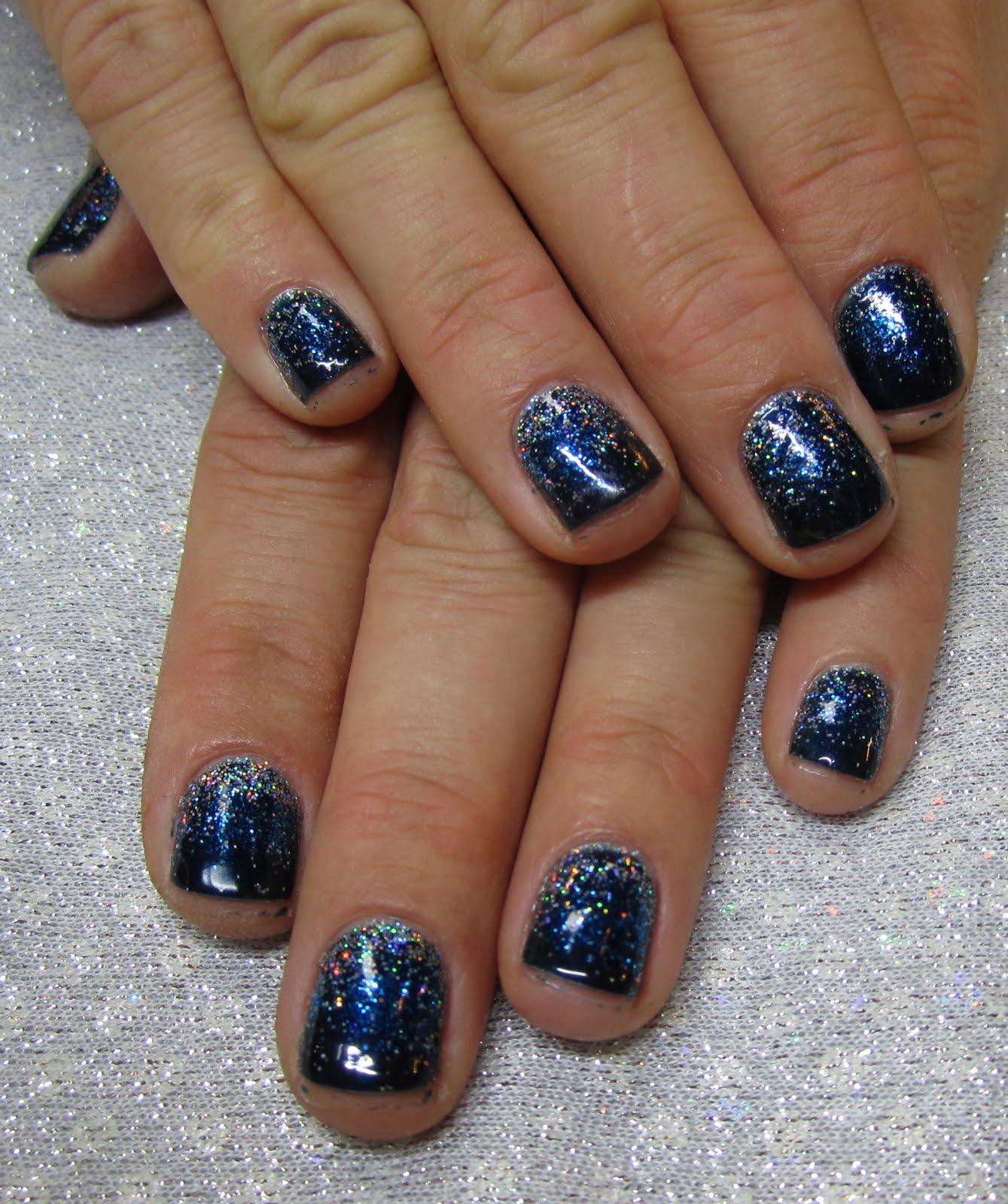 Andrea Pettingill Nails Dark Nails