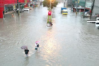 Philippines flood, typhoon, Maring, Tropical storm