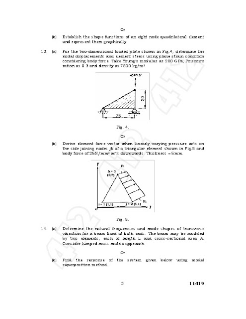 fea anna university question paper Anna university regulation 2013 previous year question papers – all departments studentsfocuscom has tried to provide the students of anna university regulation 2013 previous year question papers for the following departments.