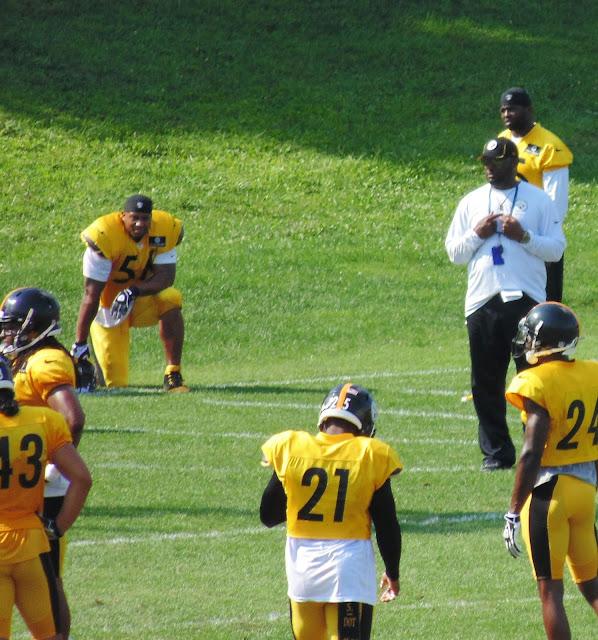 Steelers 2013 Practice