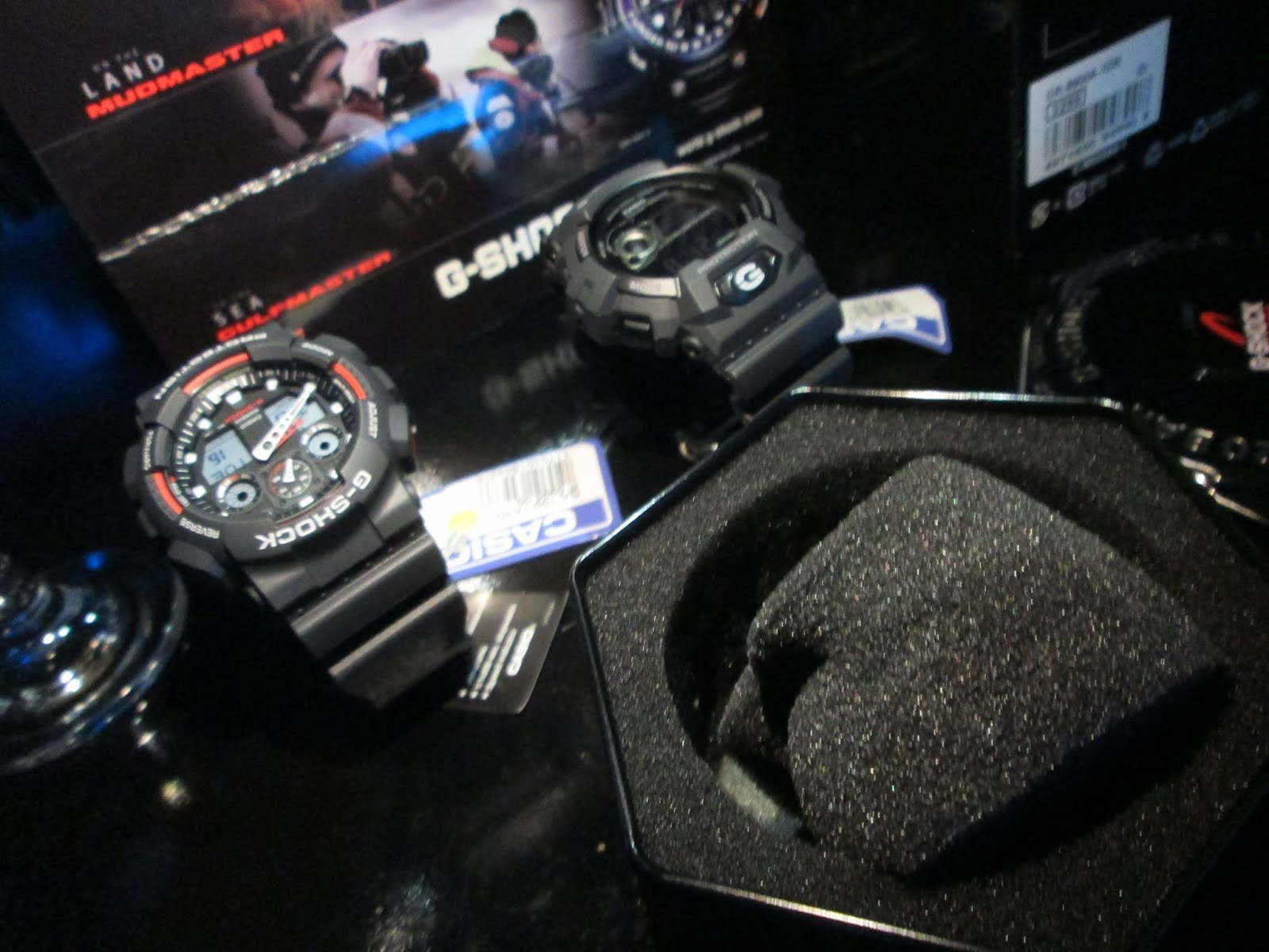 GShock Sea, Land, Air Precision