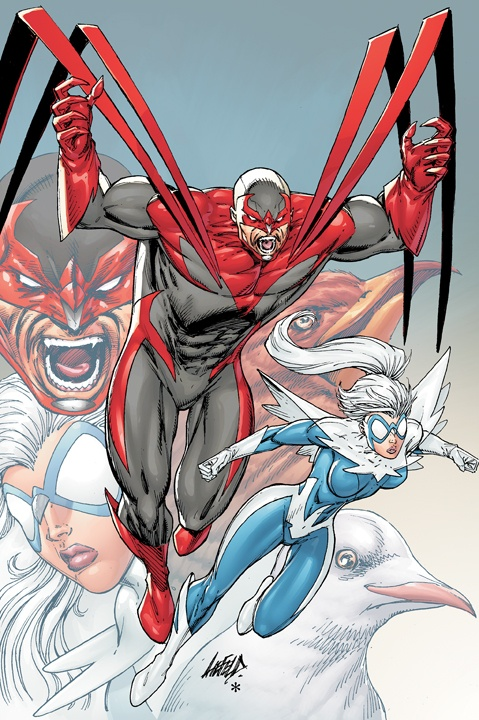 Rob Liefeld - Hawk and Dove