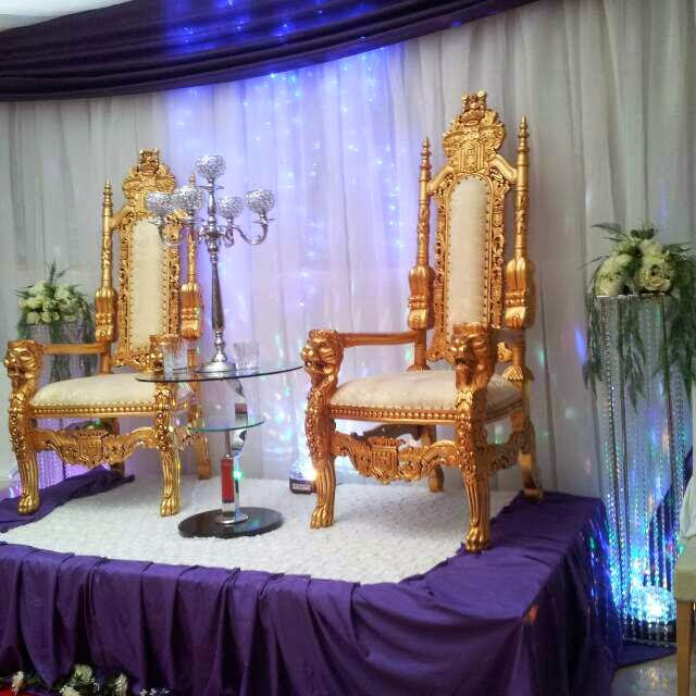 Wedding Throne Chairs U20ac400