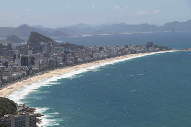 "The ""unknown"" stunning view over Leblon&Ipanema"
