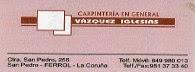 Carpintería Vazquez Iglesias