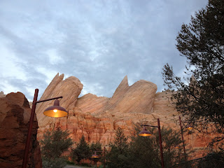The view of Ornament Valley