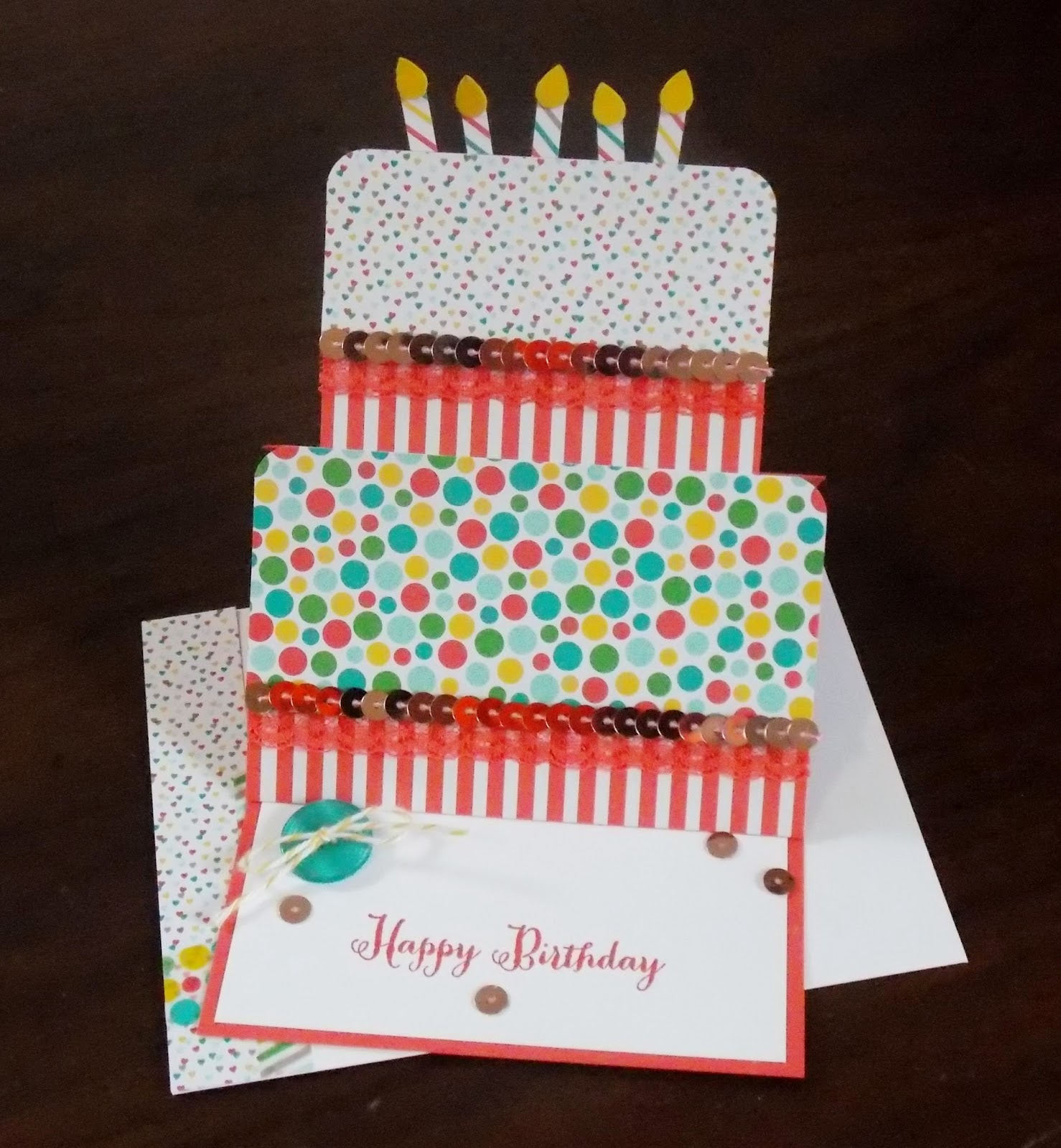 Lauras Works Of Heart Remembering Your Birthday Easel Card