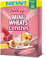 Mini-Wheats Centres Raspberry Flavour Cereal