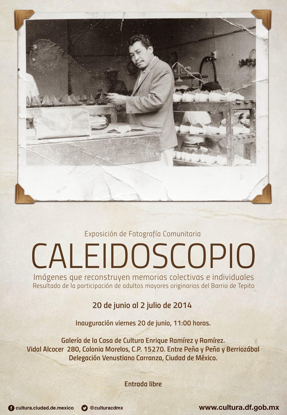 Exposición fotográfica comunitaria del Barrio de Tepito