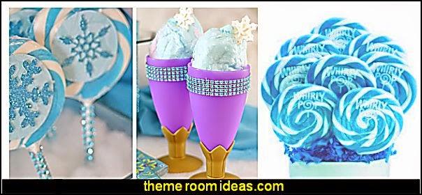 Frozen birthday party decorating ideas