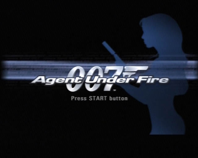 James Bond Agent Under Fire title screen