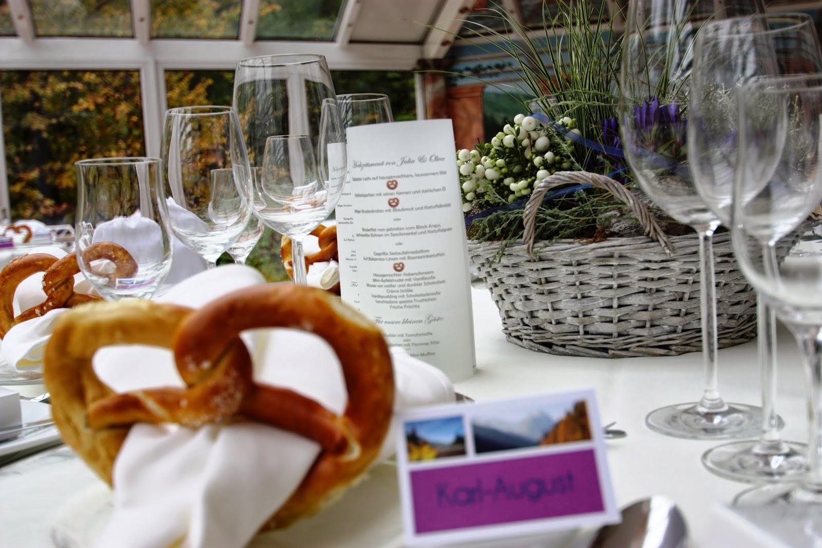 Hochzeitsempfang-Ideen Pinterest
