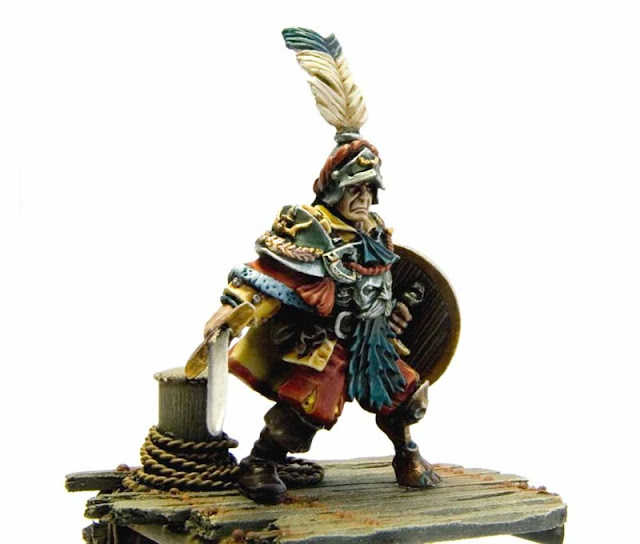 Empire / Mercenary / Pirate Captain - Warhammer Forge photo