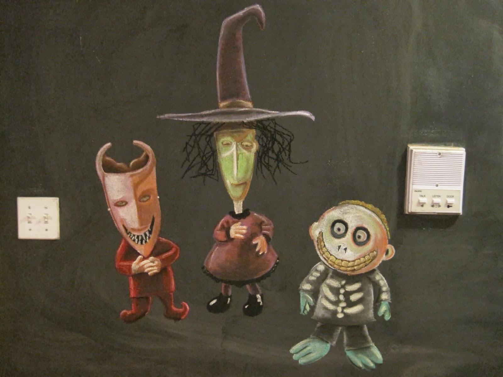 It's a Chalkboard Muralcle!: Nightmare Before Christmas (Halloween ...