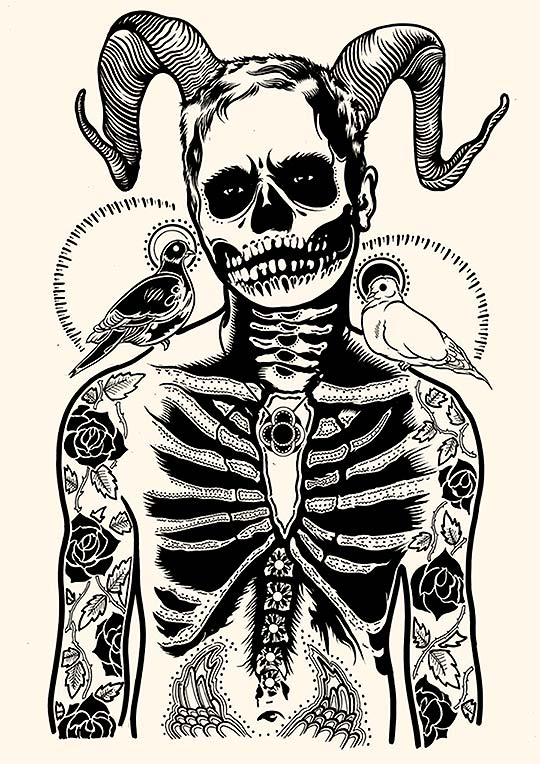 Dibujo, detalles e ilustración llamativa de Tim McDonagh