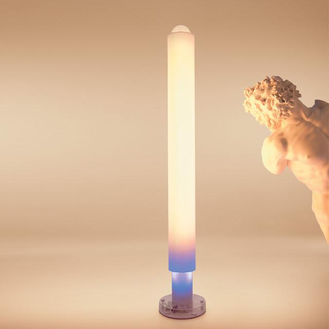 artemide metacolor mwl stehleuchte warmweiß