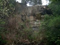 El Torrent de Vall-llosera a sota mateix de la masia de La Closella