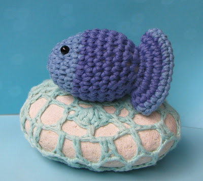 Fish Afghan Square Crochet Pattern - Free Crochet Pattern Courtesy