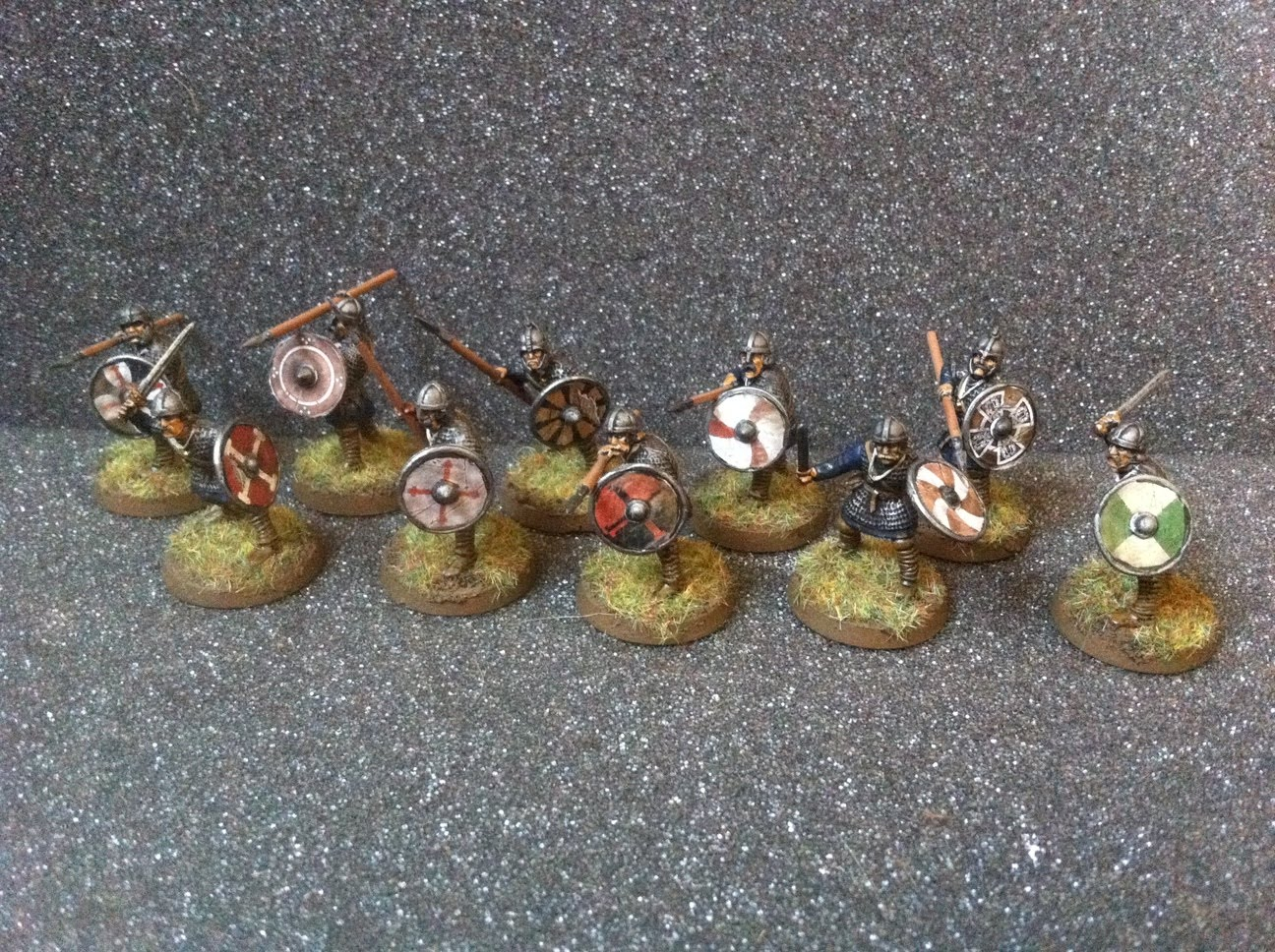 The rest of the Warband is made up of four units of 10 Warriors. These ...