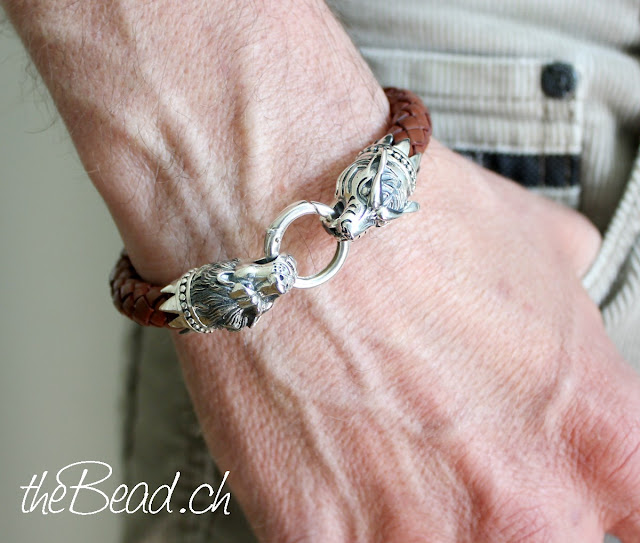 Herrenschmuck Onlineshop www.thebead.ch geflochtenes Armband