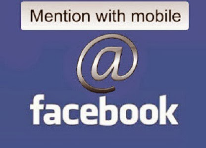 How to Tag Mention Someone on Facebook using Mobile phones  image
